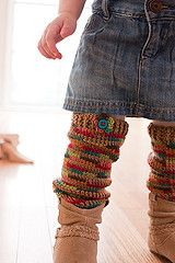 Ravelry: Cozy Crawlers Leg Warmers pattern by Linda Permann