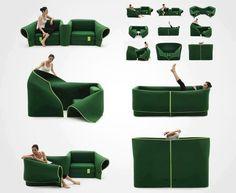 multi - chair...hmmm, strange or awesome? lol