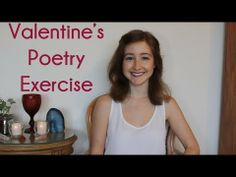 Writing ♥ Valentine's Poetry Exercise // How To Write A Love Poem - YouTube #valentinesday #gifts #gift #ideas #crystal #easy #simple #present #candy