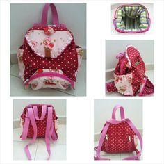 Strawberry Shortcake backpack/ Sling Bag