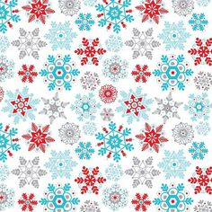 Feeling Flakey Printed Gift Wrap - Half Ream - Gift Wrap - Holiday Collection