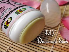 Three DIY homemade natural deodorant recipes