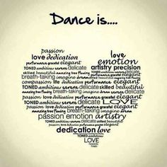 Dance is everything