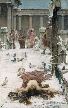Sainte Eulalie ~ John William Waterhouse (1840-1917)