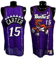 c0515a6da Toronto Raptors Vince Carter  15 Throwback Away Jersey