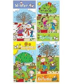 #cdwish list    Four Seasons Bulletin Board Set - Carson Dellosa Publishing Education Supplies