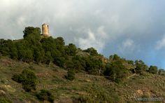 Torre Atalaya de Melicena.Granada Spain