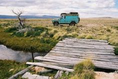 Land Rover Defender 110 HT THE BIG TRIP : Argentina. Over the great bridge up... Lol. Lobezno