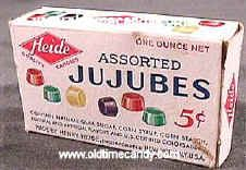 Jujubes Candy. Always thought they were gross and stuck to your teeth horribly!
