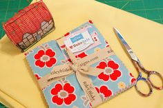 cotton pickin' fun!: Placemats With Bake Sale Fabric!