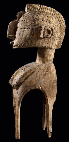 Africa | d'mba should mask from the Simo society of the Baga people of Guinea | Wood and metal