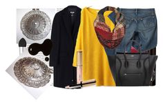 """Medallion Winter"" by vintageaquarius ❤ liked on Polyvore featuring By Terry, MSGM, Urban Decay, Pendleton and Black Rivet"