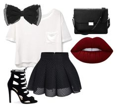 """Untitled #8"" by leilaniconklin on Polyvore featuring MANGO, Aspinal of London and Lime Crime"