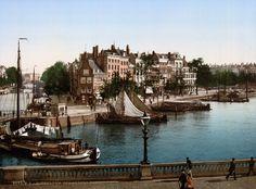 Prachtige kleurbeelden van het Rotterdam vóór de oorlog - Roomed