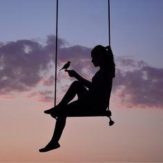 Wonderful Art Silhouette by Greek Artist Dominic Liam Silhouette Photography, Silhouette Art, Silhouette Fotografie, Fotografie Hacks, Portrait Photography, Nature Photography, Aesthetic Pictures, Belle Photo, Aesthetic Wallpapers
