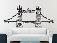 Wall Decor London Tower Bridge