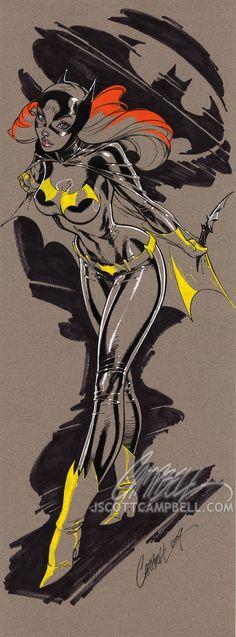 J. Scott Campbell. One really amazing comic book artist - Imgur