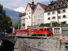 Rhätische Bahn Chur City