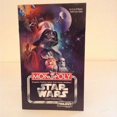 2004 Monopoly Star Wars Trilogy Edition Game Part Replacement Instruction Guide…