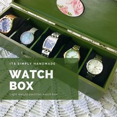 [New] The 10 Best Home Decor Ideas Today (with Pictures) - Colours can bring in a new look. Flat top watch box handcrafted to your needs. Organiser Box, Vintage Theme, Watch Box, Wooden Boxes, Altered Art, Customized Gifts, Rustic Decor, Home Goods, Organization