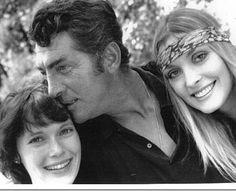 Iconic: Mia Farrow, Dean Martin, Sharon Tate. Love the expression on Dean Martin's face.