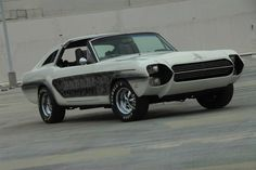 """1965 Ford Mustang """"Zebra"""" by George Barris"""