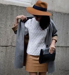 Le camel, look de la Fashion Week printemps été 2014 de Londres - Cosmopolitan.fr