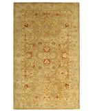 RugStudio presents Safavieh Antiquities AT822B Brown / Beige Hand-Tufted, Best Quality Area Rug, almost 8 x 10 $549