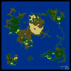 The legend of zelda overworld map nes 1987 video games and final fantasy ii 2 iv 4 japan overworld poster map 24 x 24 gumiabroncs Choice Image