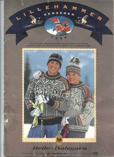 Lillehammer genseren 1994 - Вязание - Страна Мам