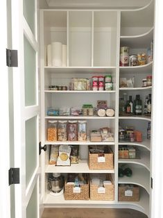 This ultimate #pantry is exactly what I would create in my own home! It's ahhh-mazing! #organization