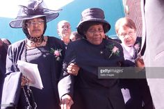 Anti Apartheid Activist Albertina Sisulu Dies At 92 Stock Pictures, Royalty-free Photos & Images