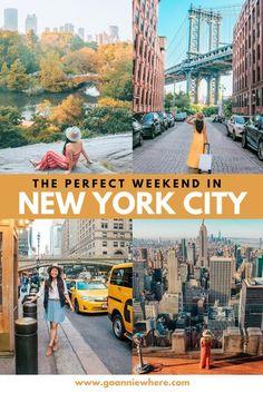 3-Day New York City: Weekend Travel Itinerary - GoAnnieWhere
