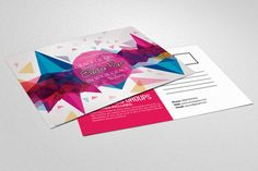 Electro Party Invitation Postcard by Business Flyers on @creativework247