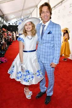 Anna Nicole Smith's Daughter Dannielynn Birkhead, 11, Beams at the Kentucky Derby