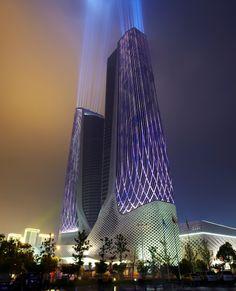 O Ultra Eficiente Edifício de Zaha Hadid em Nanjing