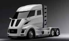 Nikola and Bosch team on powertrain design for hydrogen electric long-haul trucks – TechCrunch Electric Semi Truck, Hybrid Trucks, Windshield Glass, Lease Deals, Tesla S, Nikola Tesla, Truck Design, Long Haul, Cars