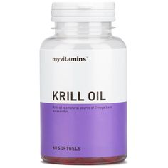 Buy Krill Oil at Myvitamins - Premium quality products at guaranteed lowest prices. Free delivery available.