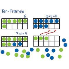 Giant Magnetic Ten-Frame Set