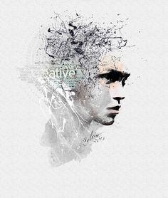 Creative  Minds Antonio Mora, Mindfulness, Photoshop, Creative, Artwork, Work Of Art, Awareness Ribbons