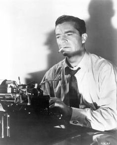 Dana Andrews played a journalist in several films: Berlin Correspondent, Assignment Paris, Where the Sidewalk Ends, Beyond a Reasonable Doubt, and The Fearmakers. This films are over the period 1942-1958 and reveal fascinating aspects of his evolving screen persona.