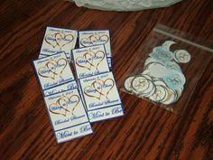 bridal shower mint books