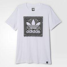 97e2b7f29f8 adidas - Camiseta Blackbird Paisley Adidas Homem