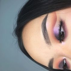 SUBCULTURE x AURORA💜 @annatrinidad_ BROWS: #Dipbrow in dark brown EYES: ABH Subculture palette using Roxy, All Star, Cube, and Rowdy & ABH Spectra from the Aurora #Glowkit BLUSH/GLOW: blush trio in Peachy Love & ABH Spectra from the Aurora Glowkit #abhsubculture #anastasiabeverlyhills