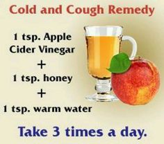 Cough and cold remedy, I will try anything at this point...
