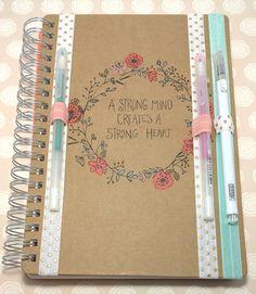 Planner Pen Holder, Elastic, Set of 3, Gold Polka Dot, Rose Pink, Turquoise, Planner Accessory, Filofax, Kikki K, Websters Pages Color Crush