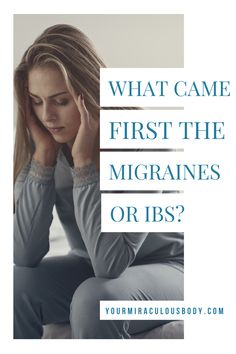 The connection is strong with study after study showing that many of those that experience migraines also have IBS and many of those with IBS often have migraines. #HealthandFitness #Migraines #IBS Anxiety Tips, Stress And Anxiety, Health And Wellbeing, Women's Health, Balance Hormones Naturally, Womens Health Care, Ibs Symptoms, Ibs Diet, Stress Relief Tips