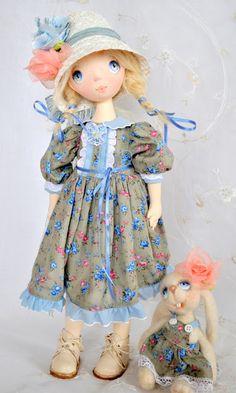 Куклы с душой от Татьяны Пущиной: Любочка