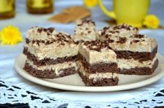 Prajitura cu cacao si crema de biscuiti