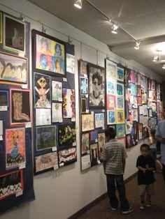 Art Show Display ideas for Heidi